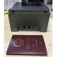 Quality Sinosecu Passport Reader Identity Registration Scanner For Bank Hotel Airport for sale