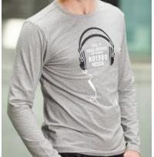 China Men Long Sleeve O Neck T Shirt on sale