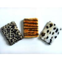 Best Leopard Plush Cardboard Cover Notebook Writing Journal / Personalized Soft Cover Notebooks wholesale