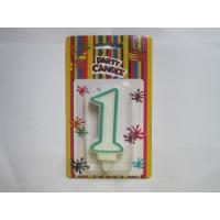 China Fancy Number Birthday Candles Paraffin Wax Material Environmental friendly on sale