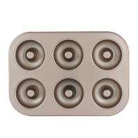 Quality Non-stick 6-Cavity Donut Baking Pans Bake Full Size Perfect Shaped Doughnuts for sale