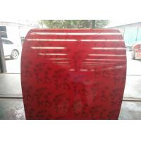 Quality PE Red Prepainted Galvalume Steel Coil High Gloss Free Sample Available for sale