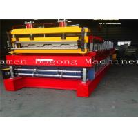 Quality High Precision Cold Roll Forming Machine , Metal Deck Forming Machine 7-15m/Min Speed for sale