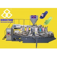 China Plastic PVC Slipppers Making Machine With Rotary Table 24 Station for sale