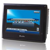 Quality RS232 / RS485 LCD Industrial HMI Two USB Port For Flash Disk To Import Excel Data for sale