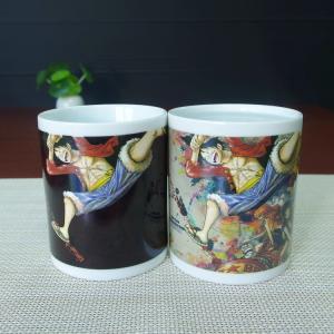Best LUFFY milk tea drinking color changing magic coffee mug AB/ABC wholesale