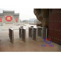 China Semi-automatic Waist High Tripod Turnstile Gate , All In One Access Control Turnstile on sale