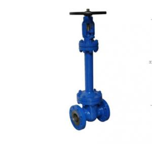 Quality API600 ANSI Resilient Bellows Sealed Gate Valve Attrition Resistant for sale
