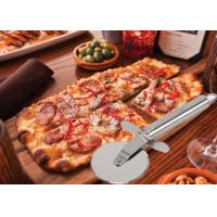Buy cheap Custom SS304 Stainless Steel Kitchen Tools Pizza Cutter With PP Wooden Handle from wholesalers