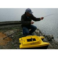 Quality DEVC-303 yellow GPS fish finder catamaran bait boat 830*523*300 mm Size for sale