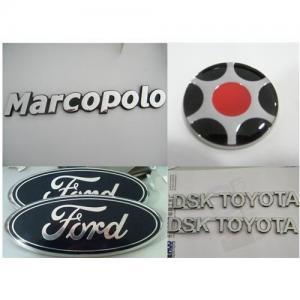 Best Chrome car badge,Silver Chrome car emblem, custom car sticker, car logo, chrome car nameplate wholesale