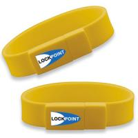 Quality electronic gadget silicon wristband usb drives with 512mb 1g 2g 4g 8g 16g for sale