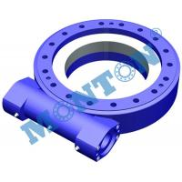 Quality Vertically Mounted Worm Gear Slew Drive Sun Tracker For Construction Machinery for sale