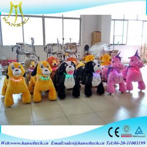 Best Hansel children amusement rides plush electric battery operated toy car wholesale