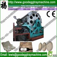 Quality Recyled Paper egg trays pulp molded machinery CE Approved for sale