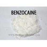 China Pain Relieving Topical Anesthetic Drugs Raw Powder  Benzocaine CAS 94-09-7 on sale