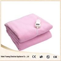 Quality 100% electric blanket with single controller for sale