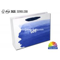 Quality Upscaled 200g Coated Custom Paper Shopping Bags For Clothes Apparel for sale