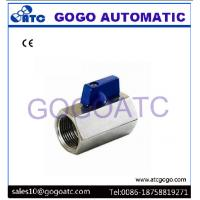 """Quality Mini Electric Ball Valve With Stainless Steel 1/2"""" BSP Female To Male Thread SS316 Brewer Hardware for sale"""