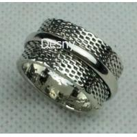 Best Unisex Gold Rhodium Cluster Western Jewelry Rings with Crystal Main Stone wholesale