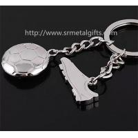 China Metal track and field drop pendant key chain, metal athletics design charm fob key rings, on sale