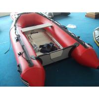 Best Big Red PVC Inflatable Boat For Adult / Inflatable Fishing Boat wholesale