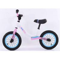 "Quality 12"" 14"" No Pedal High Carbon Steel Children Blance Bike Kids Bicycle With Comfortable Leather Saddle for sale"