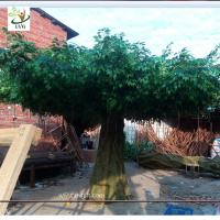 Best UVG china home decor wholesale green banyan large artificial tree for play center landscaping GRE055 wholesale