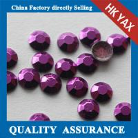 China China Bulk Price Fashion Amethyst Colors 5mm 6mm transfer decorative studs for shoes clothes on sale