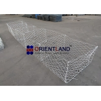 Quality 2x1x1m 2.7mm HDG Welded Mesh Gabion Baskets for sale