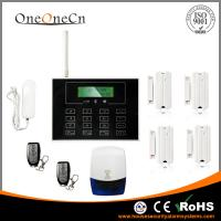 Best GSM LCD Touch Keypad Diy Home Alarm Systems Support the Door Bell wholesale