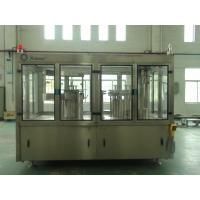 Quality PLC Hot Juice Filling Machine , 380V Soda And Soft Drink Making Machine  for sale