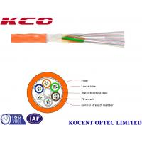 Quality Non Metallic Air-Blowing Optical Fiber Cable , PE Sheath Fiber Optic Patch Cord for sale