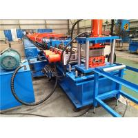 Quality 4 Mm Thickness Purlin Rolling Machine Servo Motor Punching High Performance for sale
