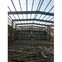 Quality Steel Framed Prefabricated Industrial Buildings Anti Corrosion Painting Fast Installation for sale