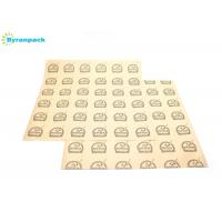 Quality Greaseproof Paper Food Wrap, Basket Liner, Sandwich Wrap, Bakery Wrap 12 x 12 Logo Printing, 500 for sale