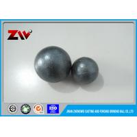 China High Hardness Chrome grinding balls / grinding media ball for cement mining on sale