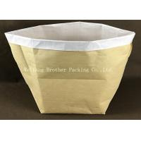 Quality Multi Wall Woven Plastic Cement Kraft Paper Valve Bag 10 Colors Printing for sale