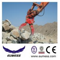 Quality Excavator Hydraulic Clamshell Rock Grab Bucket for sale