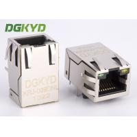 Quality Integrated magnetics RJ45 connector Single Port with transformer Modular Jack customized for sale