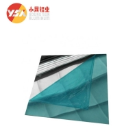 Quality Reflective T851 1500mm Width 0.3mm Thick Mirror Aluminum Sheet for sale