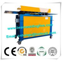 Quality Automatic Electric Wind Tower Production Line , HVAC Duct Pittsburgh Lock Forming Machine for sale
