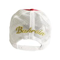 Quality Korean Men'S  Red  Trucker Mesh Cap Students Casual Hip Hop Style Quick Dry for sale