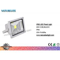 Quality IP65 Led Flood Light White , High Power Led Flood Lights Outdoor 20W  Corrosion Resistant  Silicone Gaskets for sale
