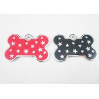 Quality Metal Personalised Dog Tags For Pets , Customized Dog Identification Tags for sale
