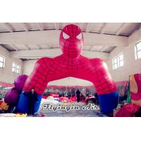 China Customized Inflatable Cartoon Arch, inflatable Spider-man Archway on sale