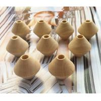Quality natural Wood loose beads wooden kids learning beads wood abacus beads no paint for sale