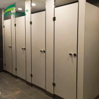 Quality Stainless Steel Toilet Cubicle Partition with Adjustable Support Leg for sale
