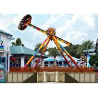 Quality Adult Big Outdoor Pendulum Amusement Ride With Colorful LED Lights For Theme Park for sale