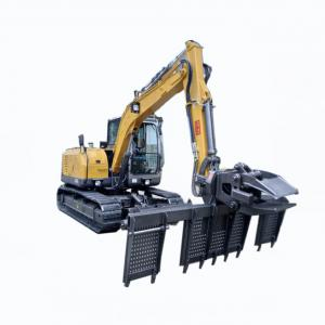 Quality 0.25m3 Railway Road Builder Excavator With Sleeper Changer for sale